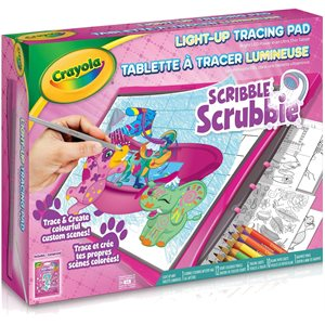 TABLETTE A TRACER LUMINEUSE SCRIBBL