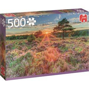 500PC HEATHER AT SUNSET