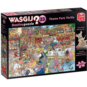 CASSE-TETE 1000 PIECES,WASGIJ DESTINY #23