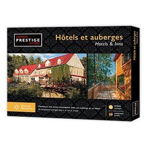COFFRET PRESTIGE HOTELS ET AUBERGES