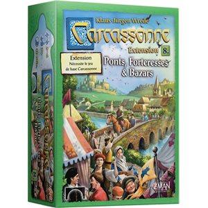 CARCASSONNE EXT: #8 BAZARS PONTS & FORTERESSES
