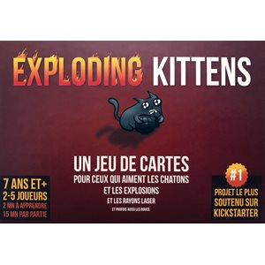 Exploding Kittens (French Version)
