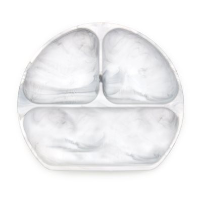 SILICONE GRIP DISH MARBLE
