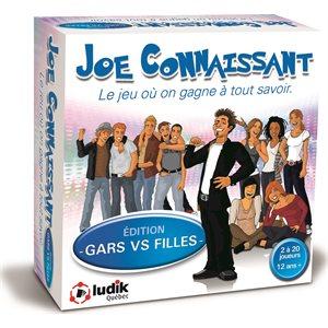JOE CONNAISSANT GARS VS FILLES