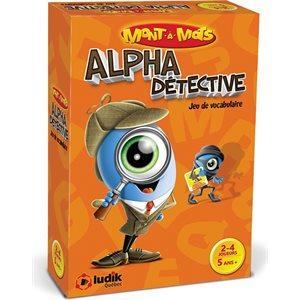 MONT-A-MOTS ALPHA DETECTIVE