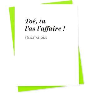 CARTE L AFFAIRE